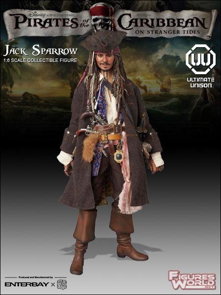 """Medicom 1//6 Scale Jack Sparrow Goblet Model for 12/"""" Action Figure"""
